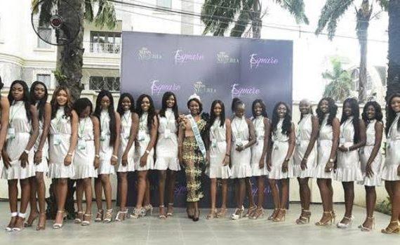 Miss Nigeria unveils 18 finalists
