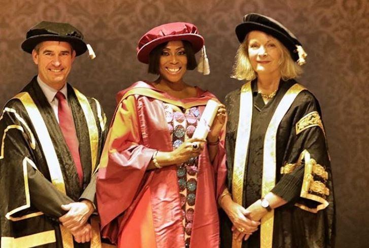 Mo Abudu Doctorate