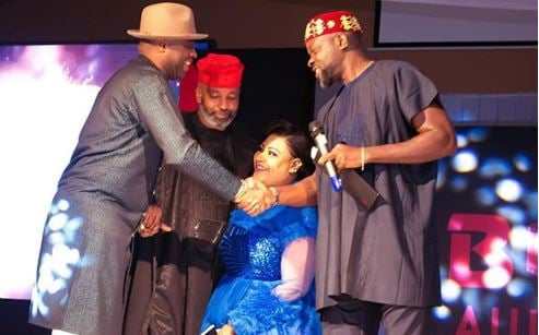 PHOTOS: Femi Adebayo, Nkechi Blessing… what celebs wore to BON…