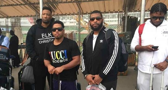 American singer, Bobby V, arrives Nigeria for 'Style by Zenith' fashion fair | TheCable.ng